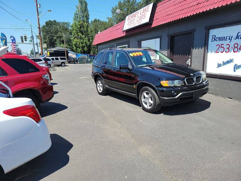 2003 BMW X5 for sale at Bonney Lake Used Cars in Puyallup WA