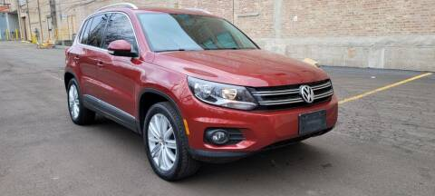2012 Volkswagen Tiguan for sale at U.S. Auto Group in Chicago IL