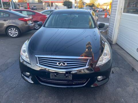2011 Infiniti G37 Sedan for sale at Better Auto in South Darthmouth MA