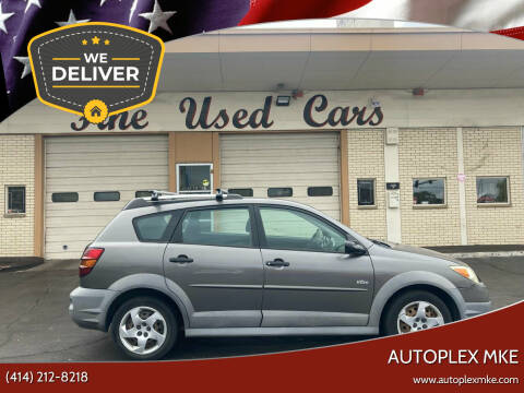 2007 Pontiac Vibe for sale at Autoplexwest in Milwaukee WI