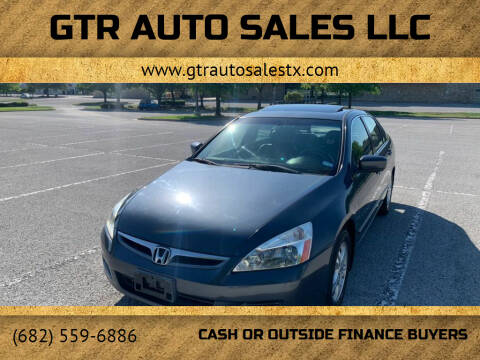 2006 Honda Accord for sale at GTR Auto Sales LLC in Haltom City TX