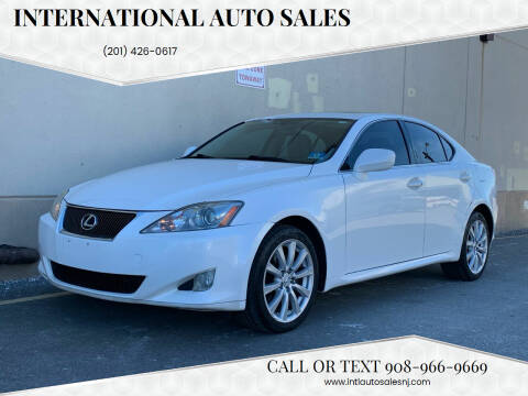 2007 Lexus IS 250 for sale at International Auto Sales in Hasbrouck Heights NJ