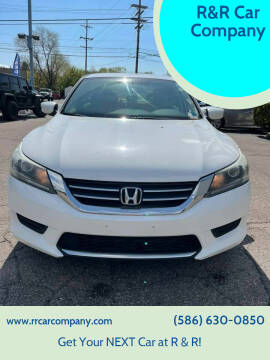 2013 Honda Accord for sale at R&R Car Company in Mount Clemens MI