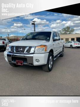 2010 Nissan Titan for sale at Quality Auto City Inc. in Laramie WY