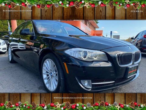 2012 BMW 5 Series for sale at Bloomingdale Auto Group - The Car House in Butler NJ