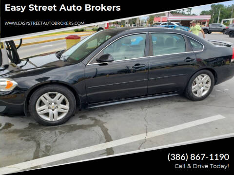 2011 Chevrolet Impala for sale at Easy Street Auto Brokers in Lake City FL