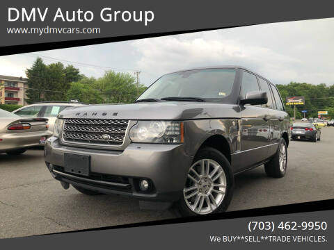 2010 Land Rover Range Rover for sale at DMV Auto Group in Falls Church VA