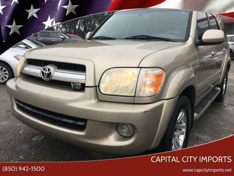 2006 Toyota Sequoia for sale at Capital City Imports in Tallahassee FL