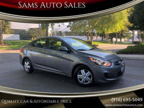 2014 Hyundai Accent for sale at Sams Auto Sales in North Highlands CA