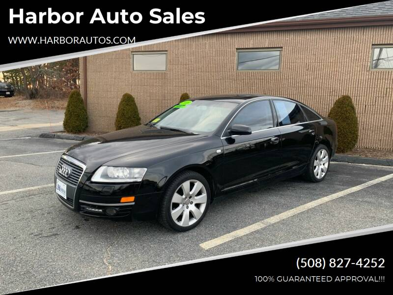 2005 Audi A6 for sale at Harbor Auto Sales in Hyannis MA