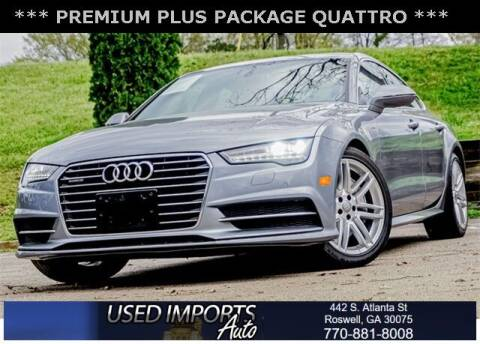 2017 Audi A7 for sale at Used Imports Auto in Roswell GA