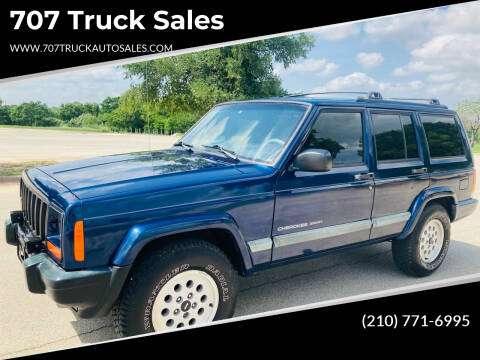 2001 Jeep Cherokee for sale at 707 Truck Sales in San Antonio TX
