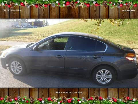 2010 Nissan Altima for sale at ALL Auto Sales Inc in Saint Louis MO