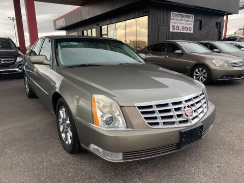 2011 Cadillac DTS for sale at JQ Motorsports East in Tucson AZ