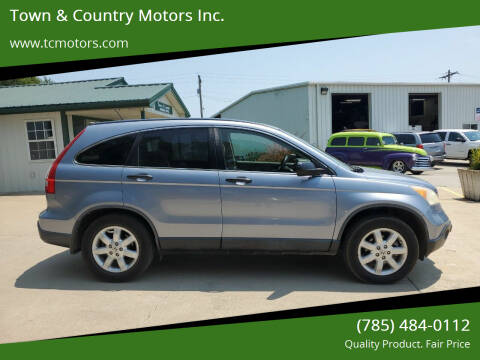 2008 Honda CR-V for sale at Town & Country Motors Inc. in Meriden KS