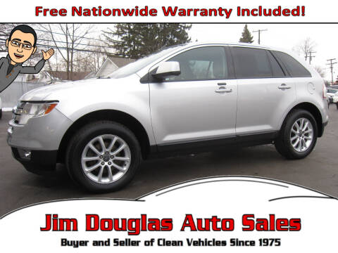 2010 Ford Edge for sale at Jim Douglas Auto Sales in Pontiac MI