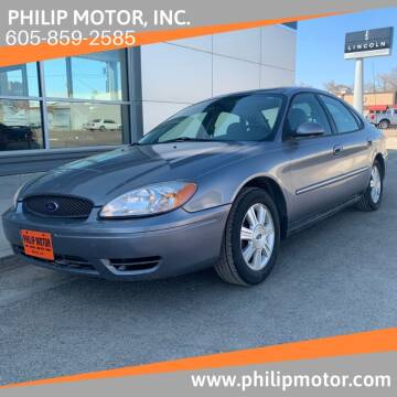 2007 Ford Taurus for sale at Philip Motor Inc in Philip SD