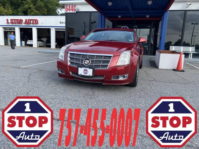 2011 Cadillac CTS for sale at 1 Stop Auto in Norfolk VA