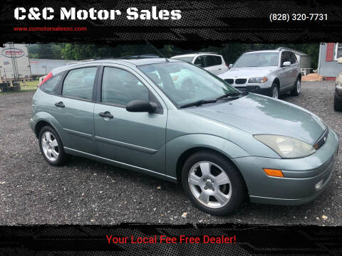 2004 Ford Focus for sale at C&C Motor Sales LLC in Hudson NC