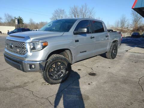 2018 Toyota Tundra for sale at Cruisin' Auto Sales in Madison IN