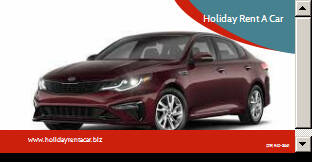 2020 Kia Optima for sale at Holiday Rent A Car in Hobart IN