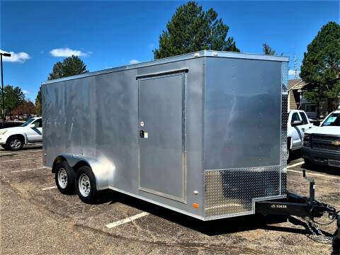 2019 Covered Wagon 16' Trailer Gold Series for sale at CarDen in Denver CO
