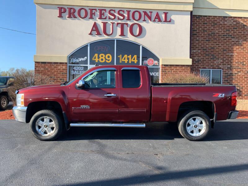 2013 Chevrolet Silverado 1500 for sale at Professional Auto Sales & Service in Fort Wayne IN