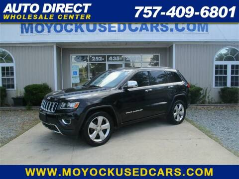 2014 Jeep Grand Cherokee for sale at Auto Direct Wholesale Center in Moyock NC