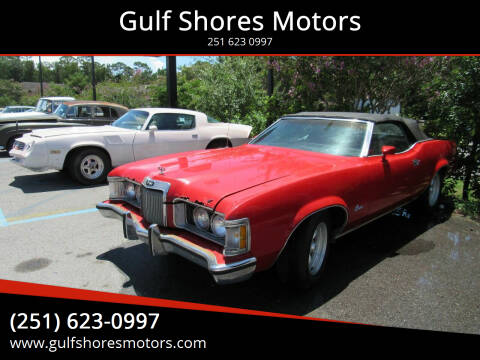 1973 Mercury Cougar for sale at Gulf Shores Motors in Gulf Shores AL
