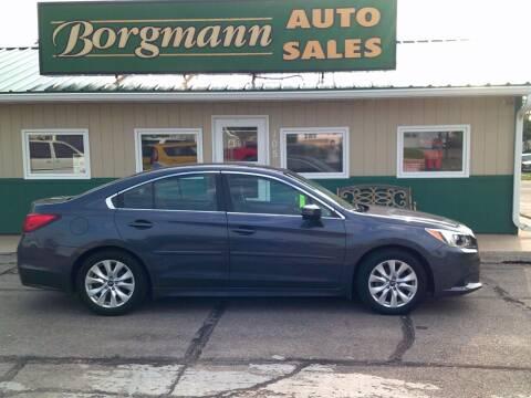 2017 Subaru Legacy for sale at Borgmann Auto Sales in Norfolk NE