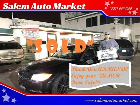 2007 BMW 3 Series for sale at Salem Auto Market in Salem OR