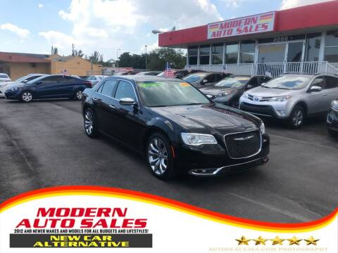 2019 Chrysler 300 for sale at Modern Auto Sales in Hollywood FL