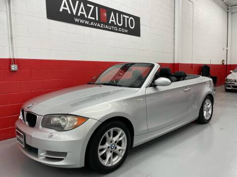 2009 BMW 1 Series for sale at AVAZI AUTO GROUP LLC in Gaithersburg MD