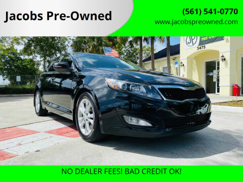 2013 Kia Optima for sale at Jacobs Pre-Owned in Lake Worth FL