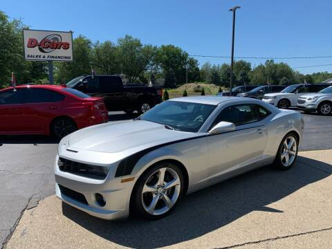 2013 Chevrolet Camaro for sale at D-Cars LLC in Zeeland MI