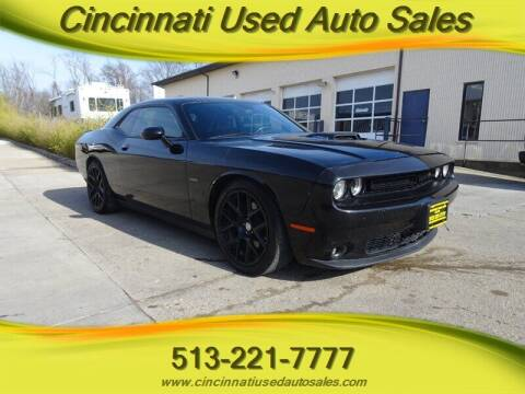2015 Dodge Challenger for sale at Cincinnati Used Auto Sales in Cincinnati OH
