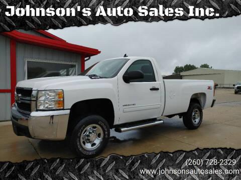 2010 Chevrolet Silverado 2500HD for sale at Johnson's Auto Sales Inc. in Decatur IN