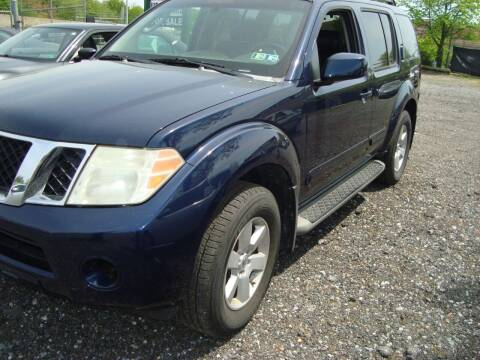 2008 Nissan Pathfinder for sale at Branch Avenue Auto Auction in Clinton MD