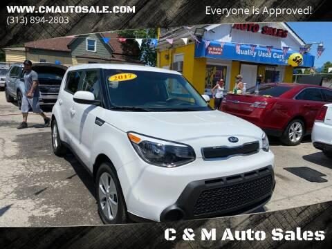 2016 Kia Soul for sale at C & M Auto Sales in Detroit MI