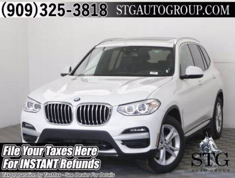 2020 BMW X3 for sale at STG Auto Group in Montclair CA