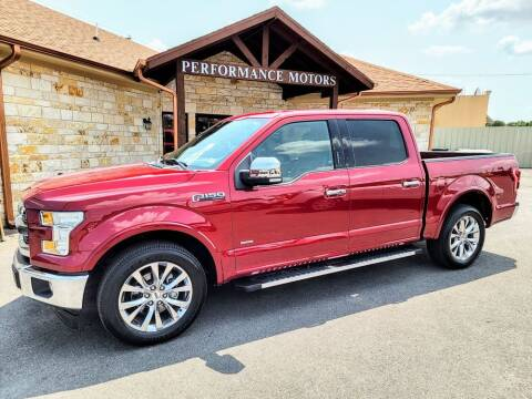 2017 Ford F-150 for sale at Performance Motors Killeen Second Chance in Killeen TX