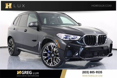 2020 BMW X5 M for sale at HGREG LUX EXCLUSIVE MOTORCARS in Pompano Beach FL