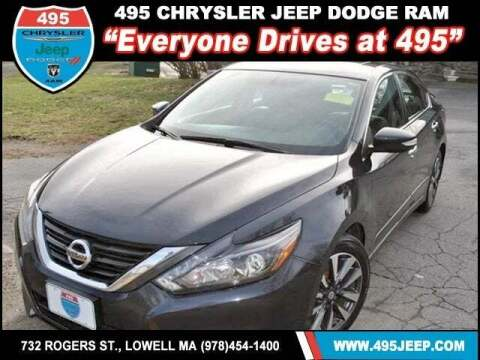 2016 Nissan Altima for sale at 495 Chrysler Jeep Dodge Ram in Lowell MA