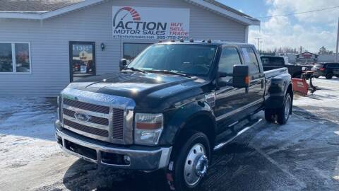 2008 Ford F-450 Super Duty for sale at Action Motor Sales in Gaylord MI