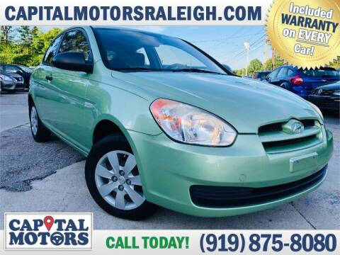 2009 Hyundai Accent for sale at Capital Motors in Raleigh NC