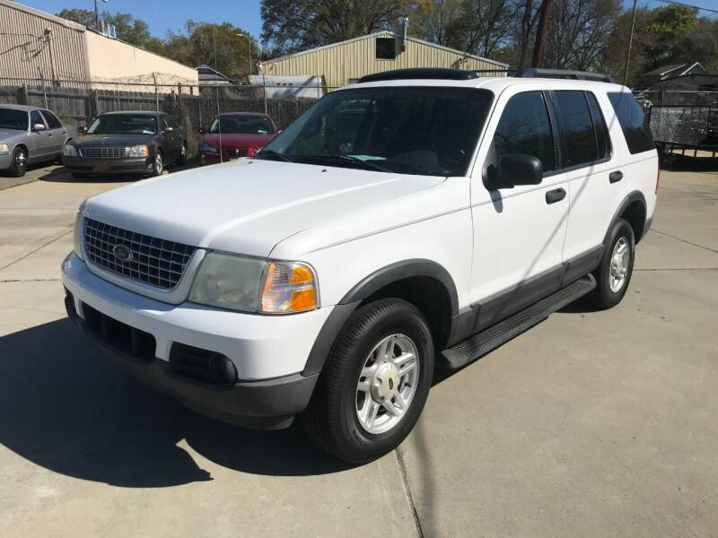 2003 Ford Explorer for sale at Mike's Auto Sales of Charlotte in Charlotte NC