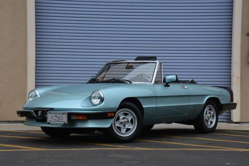 1984 Alfa Romeo Spider for sale at Milpas Motors in Santa Barbara CA