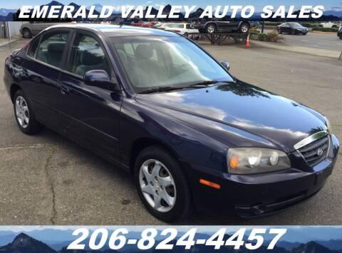 2005 Hyundai Elantra for sale at Emerald Valley Auto Sales in Des Moines WA