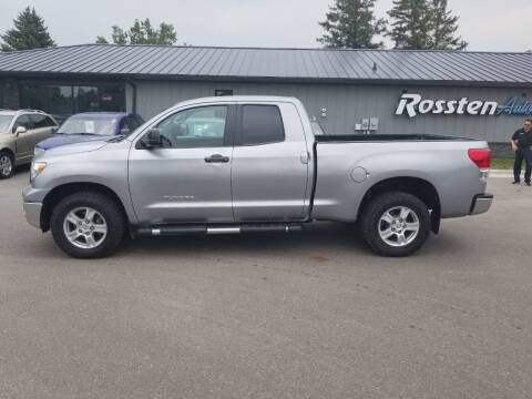 2012 Toyota Tundra for sale at ROSSTEN AUTO SALES in Grand Forks ND
