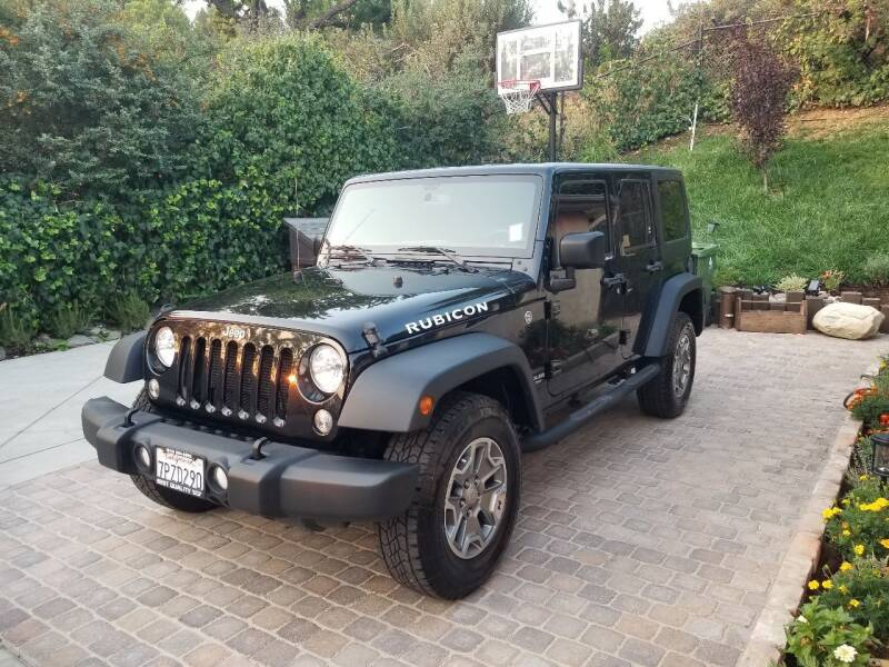 2016 Jeep Wrangler Unlimited for sale at Best Quality Auto Sales in Sun Valley CA